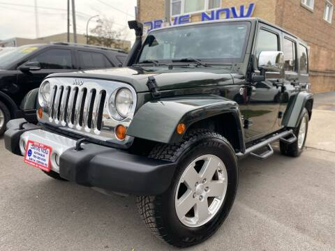 2011 Jeep Wrangler Unlimited for sale at Drive Now Autohaus in Cicero IL