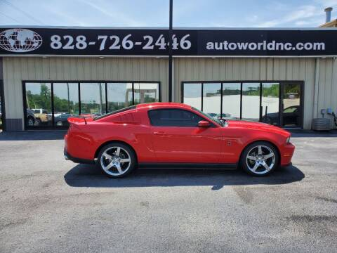 2010 Ford Mustang for sale at AutoWorld of Lenoir in Lenoir NC