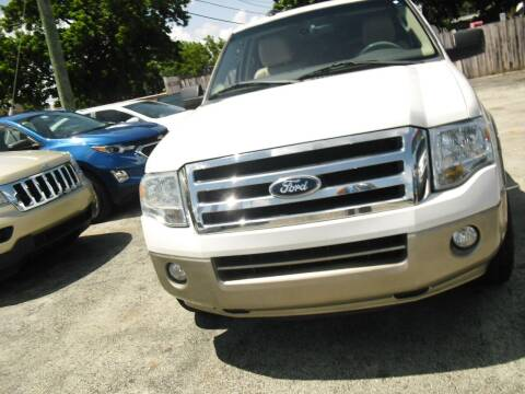 2014 Ford Expedition EL for sale at SUPERAUTO AUTO SALES INC in Hialeah FL