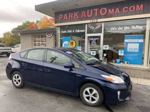 2013 Toyota Prius for sale at Park Auto LLC in Palmer MA
