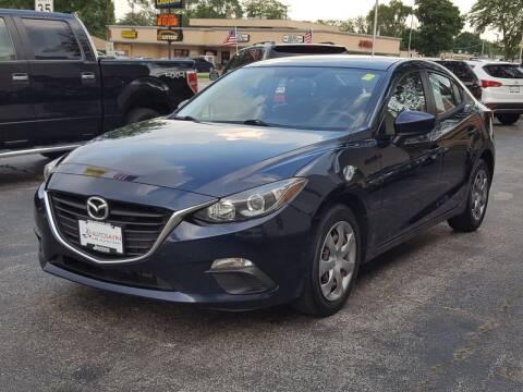 2014 Mazda MAZDA3 for sale at AUTOSAVIN in Elmhurst IL