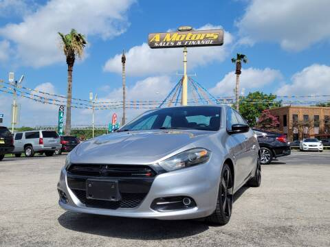 2014 Dodge Dart for sale at A MOTORS SALES AND FINANCE in San Antonio TX
