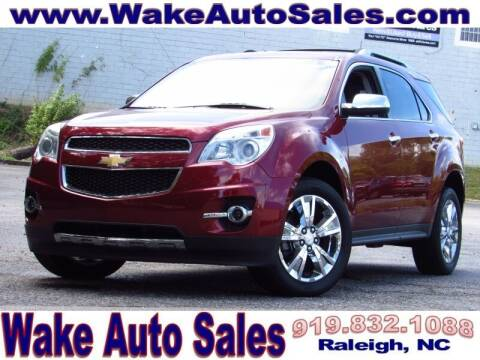 2012 Chevrolet Equinox for sale at Wake Auto Sales Inc in Raleigh NC