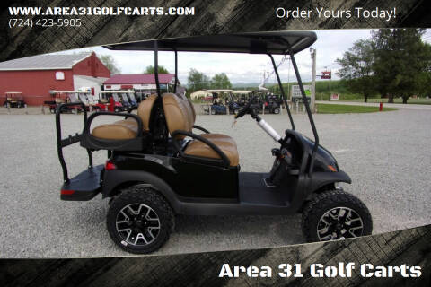 2021 Club Car Villager 4, Gas for sale at Area 31 Golf Carts - Gas 4 Passenger in Acme PA