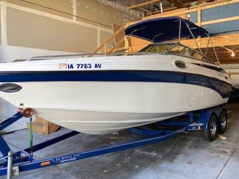 2003 Crownline 230 BR for sale at Toy Flip LLC in Cascade IA