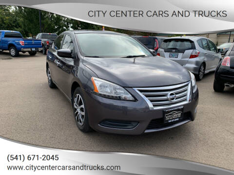 2014 Nissan Sentra for sale at City Center Cars and Trucks in Roseburg OR