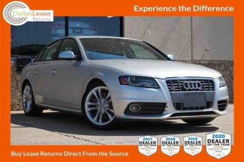 2012 Audi S4 for sale at Dallas Auto Finance in Dallas TX
