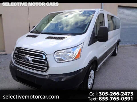 2018 Ford Transit Passenger for sale at Selective Motor Cars in Miami FL
