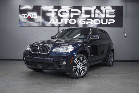 2013 BMW X5 for sale at TOPLINE AUTO GROUP in Kent WA