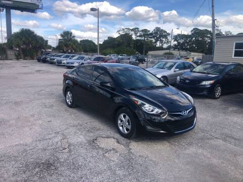 2015 Hyundai Elantra for sale at Friendly Finance Auto Sales in Port Richey FL
