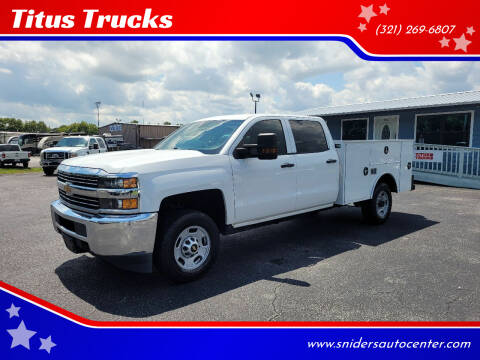 2017 Chevrolet Silverado 2500HD for sale at Titus Trucks in Titusville FL