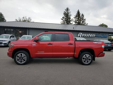 2020 Toyota Tundra for sale at ROSSTEN AUTO SALES in Grand Forks ND