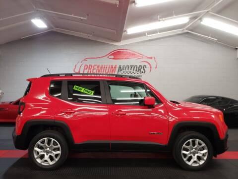 2017 Jeep Renegade for sale at Premium Motors in Villa Park IL