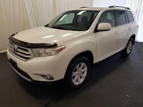 2012 Toyota Highlander for sale at Rick's R & R Wholesale, LLC in Lancaster OH