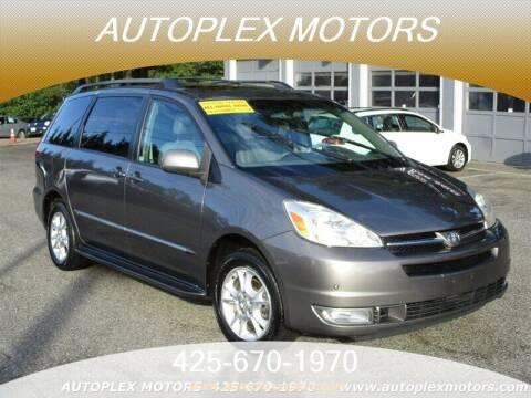 2005 Toyota Sienna for sale at Autoplex Motors in Lynnwood WA