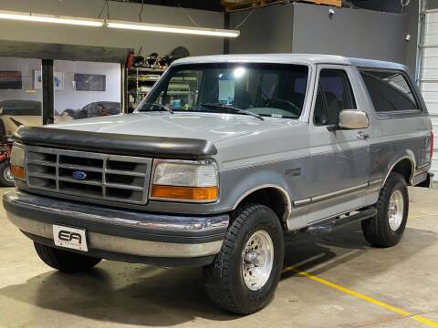 1992 Ford Bronco for sale at EA Motorgroup in Austin TX