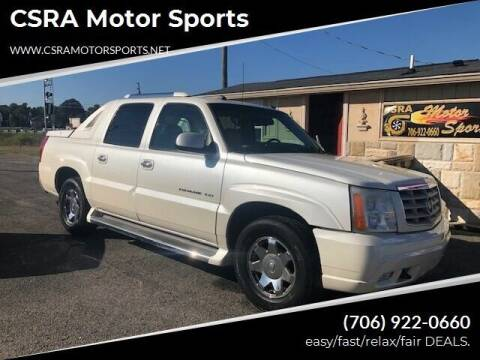 2005 Cadillac Escalade EXT for sale at CSRA Motor Sports in Augusta GA
