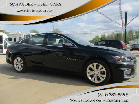 2018 Chevrolet Malibu for sale at Schrader - Used Cars in Mount Pleasant IA