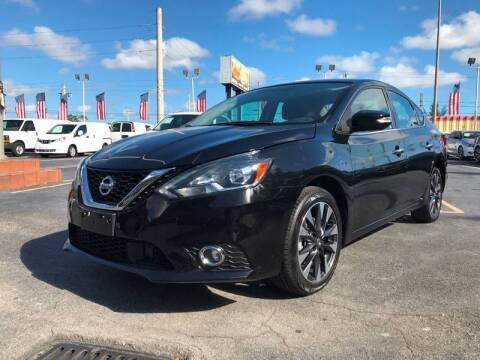 2018 Nissan Sentra for sale at LKG Auto Sales Inc in Miami FL