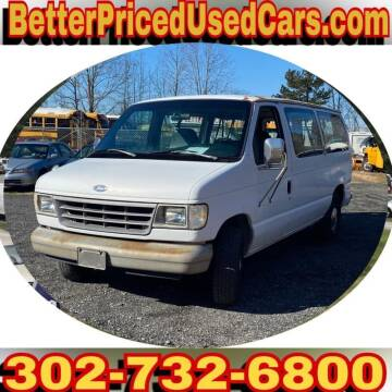 1993 Ford E-150 for sale at Better Priced Used Cars in Frankford DE