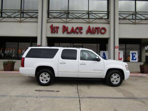 2009 Chevrolet Suburban for sale at First Place Auto Ctr Inc in Watauga TX