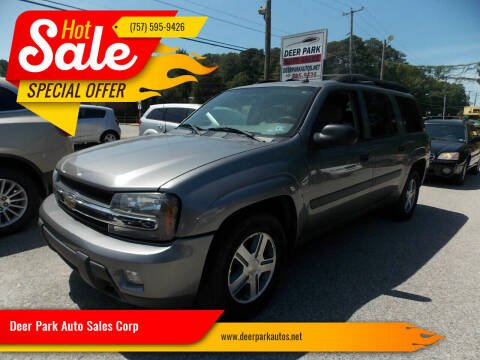 2005 Chevrolet TrailBlazer EXT for sale at Deer Park Auto Sales Corp in Newport News VA