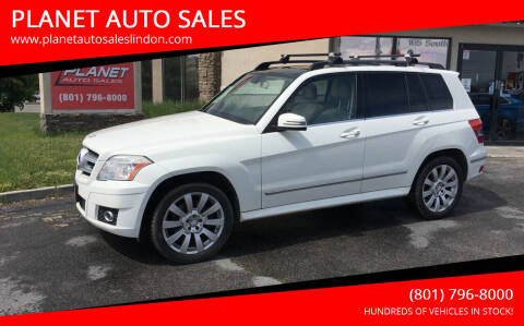 2012 Mercedes-Benz GLK for sale at PLANET AUTO SALES in Lindon UT