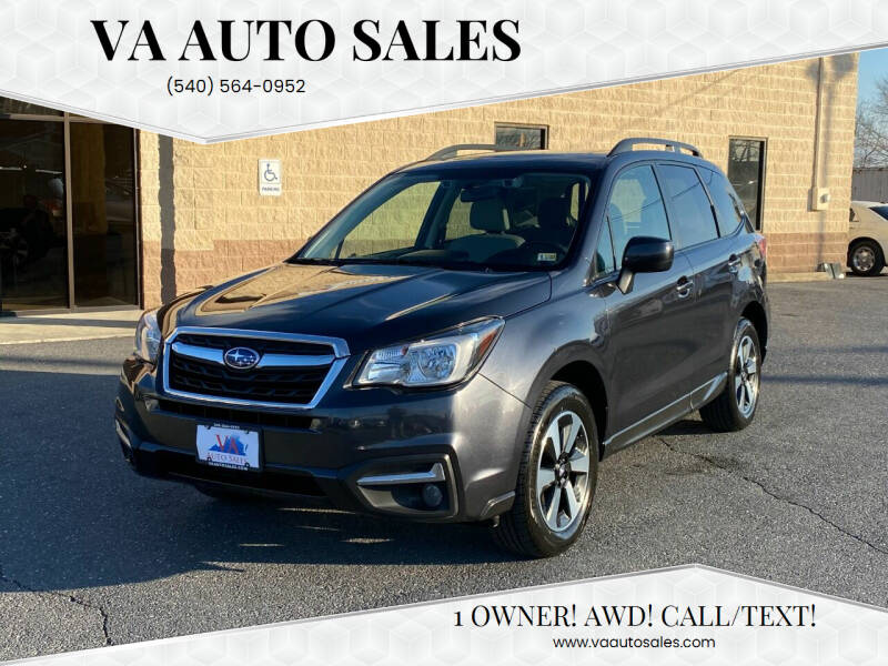 2018 Subaru Forester for sale at Va Auto Sales in Harrisonburg VA