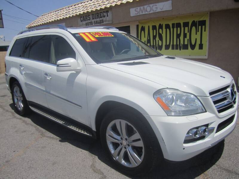 2011 Mercedes-Benz GL-Class for sale at Cars Direct USA in Las Vegas NV