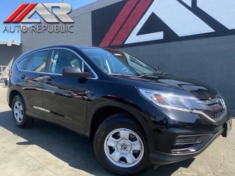 2016 Honda CR-V for sale at Auto Republic Fullerton in Fullerton CA