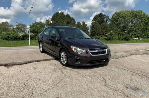 2012 Subaru Impreza for sale at InstaCar LLC in Independence MO