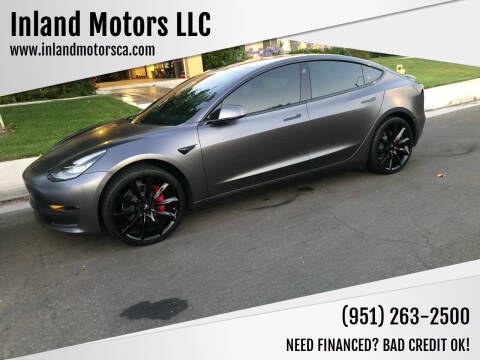 2018 Tesla Model 3 for sale at Inland Motors LLC in Riverside CA