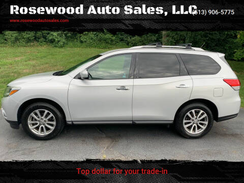 2015 Nissan Pathfinder for sale at Rosewood Auto Sales, LLC in Hamilton OH