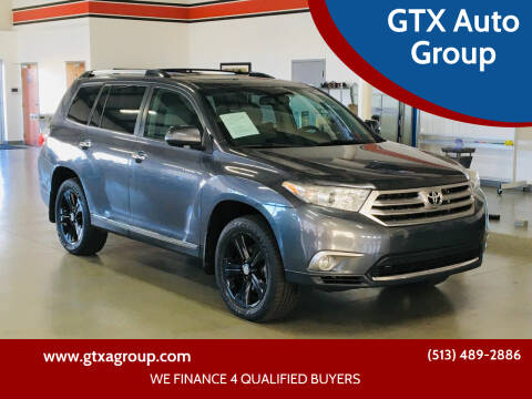 2013 Toyota Highlander for sale at GTX Auto Group in West Chester OH