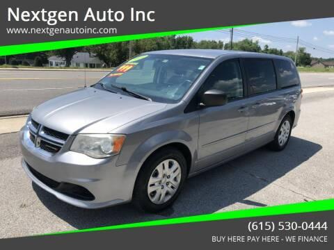2014 Dodge Grand Caravan for sale at Nextgen Auto Inc in Smithville TN