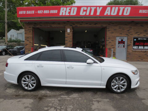 2017 Audi A6 for sale at Red City  Auto in Omaha NE