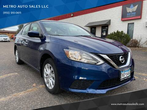 2019 Nissan Sentra for sale at METRO AUTO SALES LLC in Blaine MN