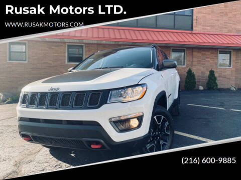 2019 Jeep Compass for sale at Rusak Motors LTD. in Cleveland OH