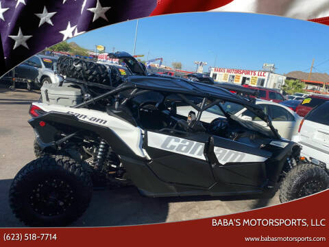 2018 CAN AM MAVERICK X3 MAX TURBO for sale at Baba's Motorsports, LLC in Phoenix AZ