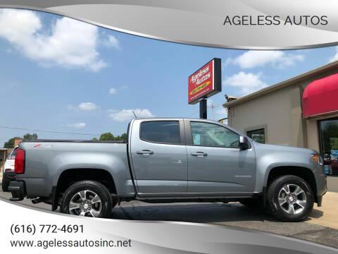 2019 Chevrolet Colorado for sale at Ageless Autos in Zeeland MI