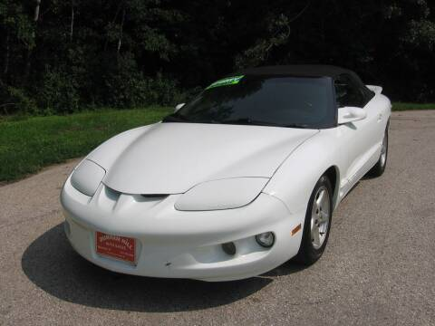 2002 Pontiac Firebird for sale at Durham Hill Auto in Muskego WI