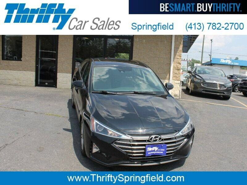 2020 Hyundai Elantra for sale at Thrifty Car Sales Springfield in Springfield MA