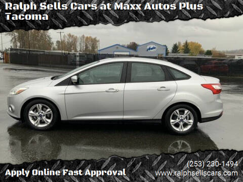 2014 Ford Focus for sale at Ralph Sells Cars at Maxx Autos Plus Tacoma in Tacoma WA