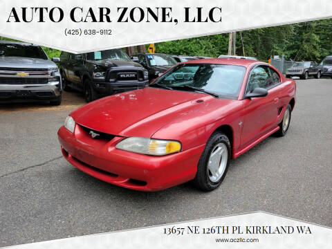 1997 Ford Mustang for sale at Auto Car Zone, LLC in Kirkland WA
