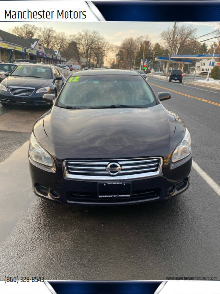 2012 Nissan Maxima for sale at Manchester Motors in Manchester CT
