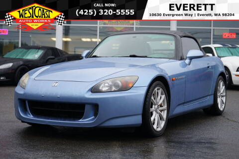 2006 Honda S2000 for sale at West Coast Auto Works in Edmonds WA