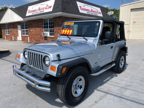 2006 Jeep Wrangler for sale at tazewellauto.com in Tazewell TN