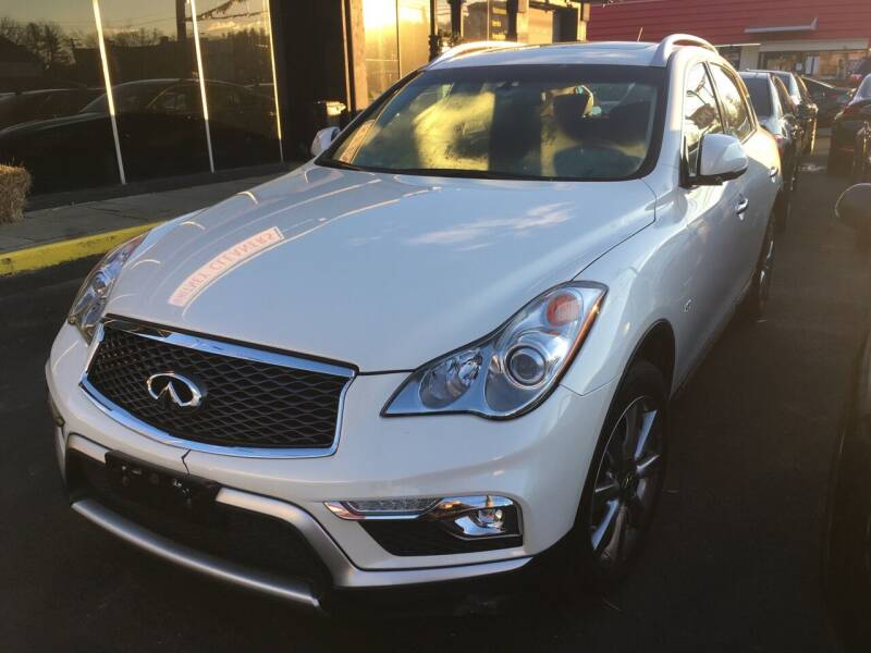 2017 Infiniti QX50 for sale at MELILLO MOTORS INC in North Haven CT