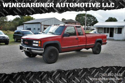 1995 GMC Sierra 2500 for sale at WINEGARDNER AUTOMOTIVE LLC in New Lexington OH