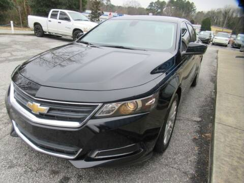 2017 Chevrolet Impala for sale at Southern Auto Solutions - 1st Choice Autos in Marietta GA
